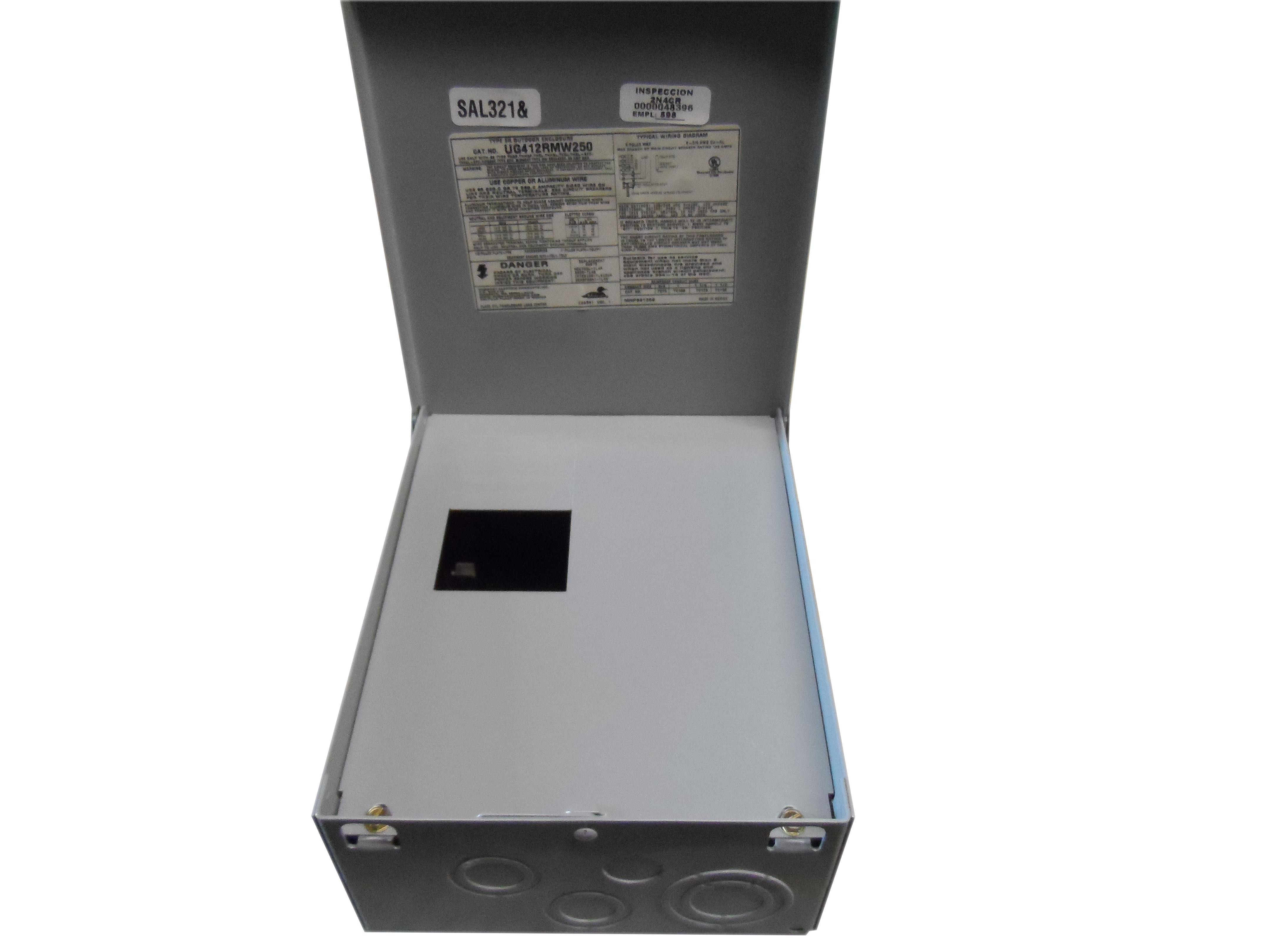 Details about MIDWEST UG412RMW260 N 60A 240V 1P NEW on